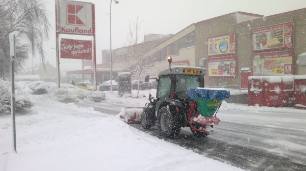 Zimní údržba